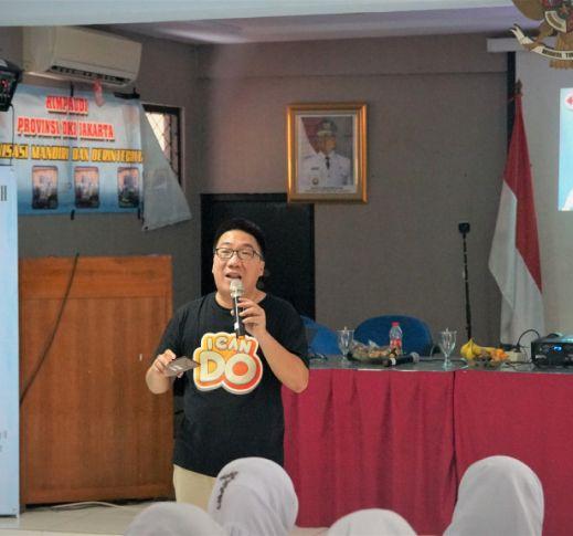 ICANDO membimbing para guru untuk beradaptasi dengan digitalisasi pendidikan di era 4.0 pada Rapat Kerja Wilayah I HIMPAUDI DKI Jakarta